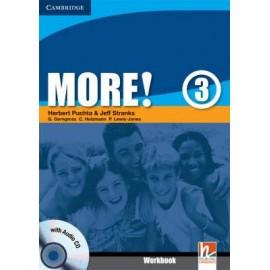 MORE! 3 Workbook + CD