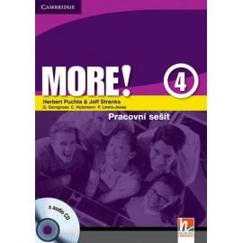 MORE! 4 Workbook (česká verze) + CD