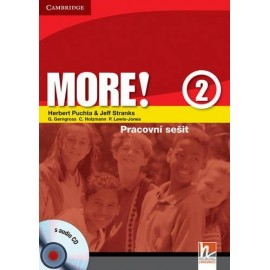 MORE! 2 Workbook (česká verze) + CD