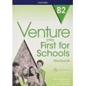 Venture into First for Schools Workbook without Key + Audio CD