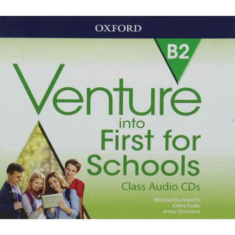 Venture into First for Schools Class Audio CDs