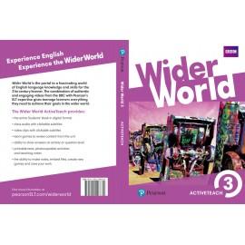 Wider World 3 Teacher's ActiveTeach