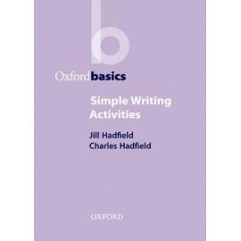 Oxford Basics: Simple Writing Activities