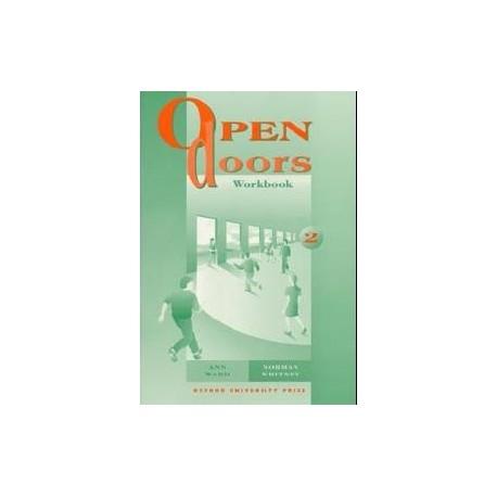 Open Doors 2 Workbook Oxford University Press 9780194356053