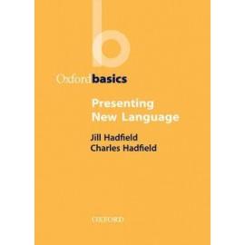 Oxford Basics: Presenting New Language