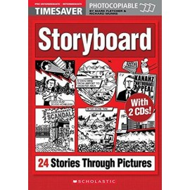 Timesaver: Storyboard - 24 Stories Through Pictures + CD