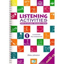 Listening Activities 1 Photocopiable Resource Book + CD