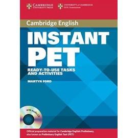 Cambridge Instant PET + CDs