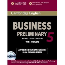 Cambridge English Business 5 Preliminary Student's Book with Answers + CD