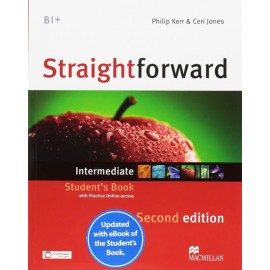 Straightforward Intermediate Second Ed. Student´s Book with Online Access Code & eBook