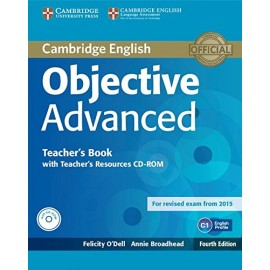 Objective Advanced Fourth Edition (for 2015 exam) Teacher's Book + Teacher's Resources CD-ROM
