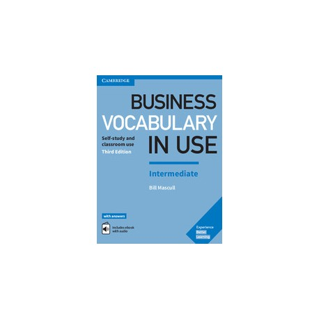 Business Vocabulary in Use Third Edition Intermediate Book with answers and  eBook
