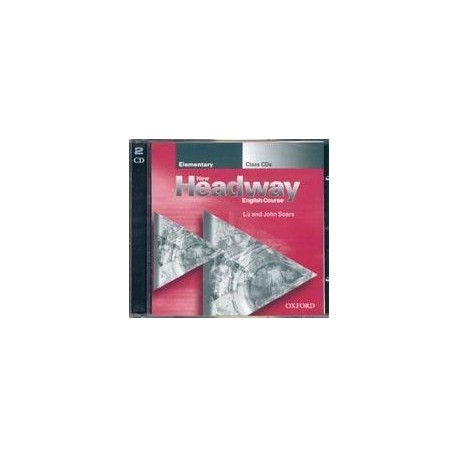 New Headway Elementary Class Audio CDs (2) Oxford University Press 9780194376297