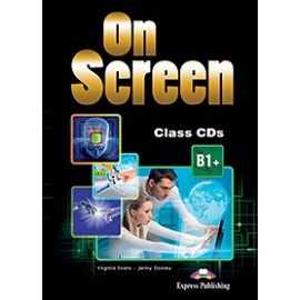 On Screen B1+ - Class CDs (set of 4) (Black edition)