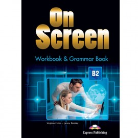 On Screen B2 - Worbook & Grammar + ieBook (Black edition)