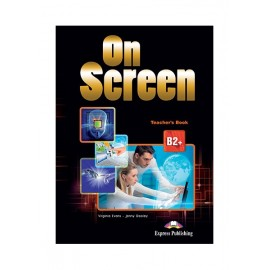 On Screen B2+ - Teacher´s Book (with writing book and key) (Black edition)