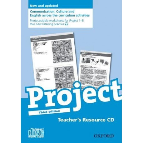 Project 1 - 5 Third Edition Teacher's Resource CD-ROM