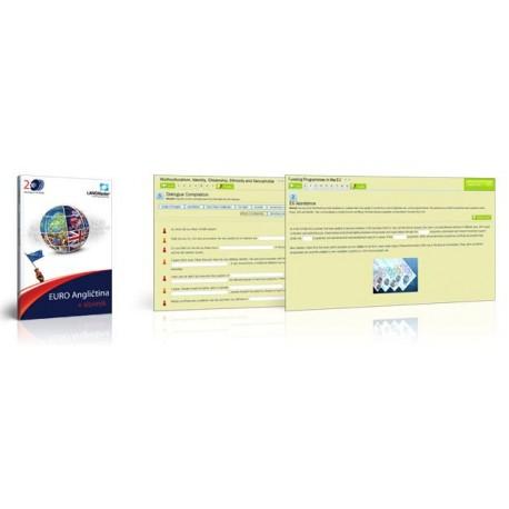 Langmaster EURO Angličtina + Slovník - Online licenční klíč