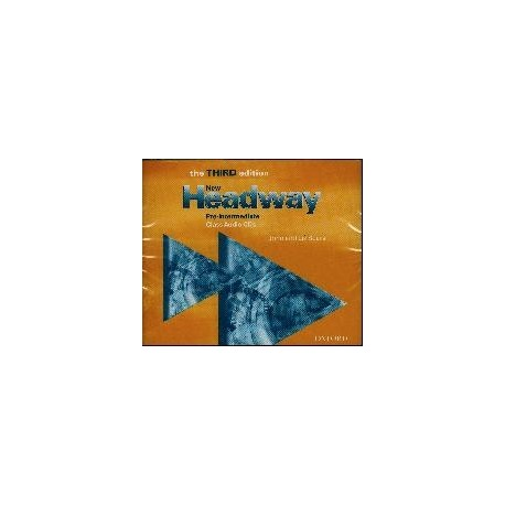 New Headway Pre-intermediate Third Edition Class CDs Oxford University Press 9780194715904