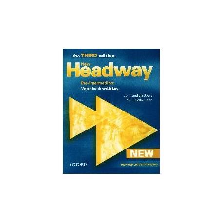 New Headway Pre-Intermediate Third Edition Workbook with key Oxford University Press 9780194715867