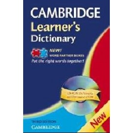 Cambridge Learner's Dictionary Third Edition + CD-ROM
