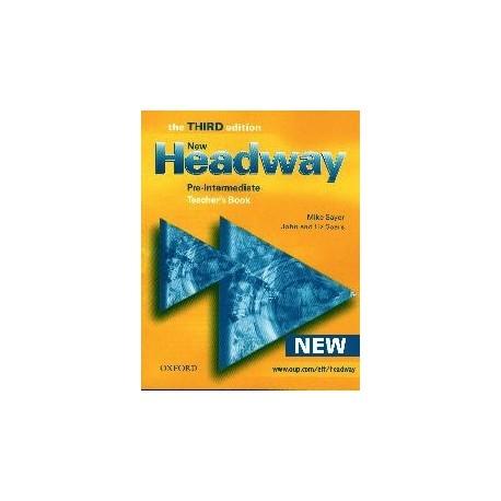 New Headway Pre-intermediate Third Edition Teacher's Book Oxford University Press 9780194715881