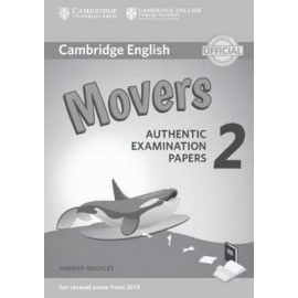 Cambridge English Young Learners 2 for Revised Exam from 2018 Movers Answer Booklet