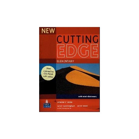 New Cutting Edge Elementary Student's Book + CD-ROM Longman 9781405852272