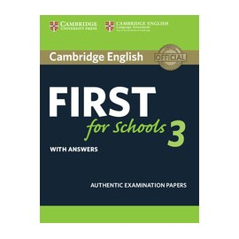 Cambridge English First for Schools 3 Student's Book with Answers + Audio