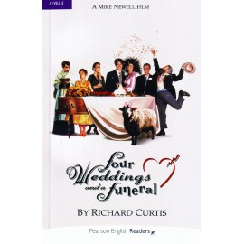Pearson English Readers: Four Weddings and a Funeral