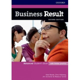 Business Result Second Edition Advanced Student's Book with Online Practice