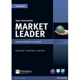 Market Leader Third Edition Upper-Intermediate Coursebook + DVD-ROM