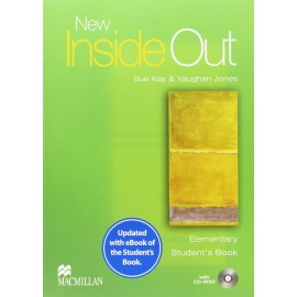 New Inside Out Elementary Student's Book + eBook + CD-ROM