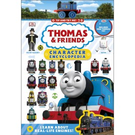 Thomas & Friends Character Encyclopedia with Thomas Mini Toy