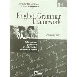 English Grammar Framework B1 Answer Key