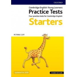Cambridge English Qualifications Practice Tests Pre A1 Starters Pack Updated for 2018 with Audio Download