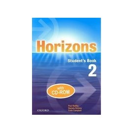 Horizons 2 Student's Book + CD-ROM
