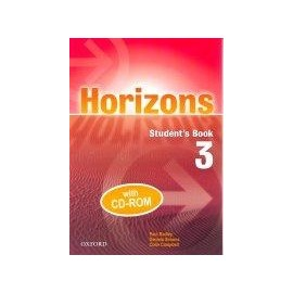 Horizons 3 Student's Book + CD-ROM