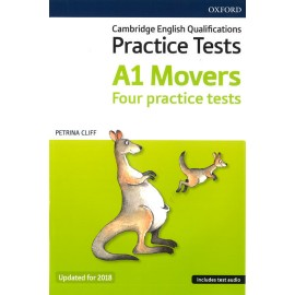 Cambridge English Qualifications Practice Tests A1 Movers Pack Updated for 2018 with Audio Download