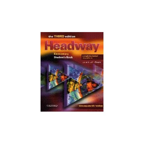 New Headway Elementary Third Edition Student's Book + CZ Wordlist Oxford University Press 9780194716826