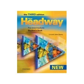 New Headway Pre-intermediate Third Edition Student's Book + CZ Wordlist