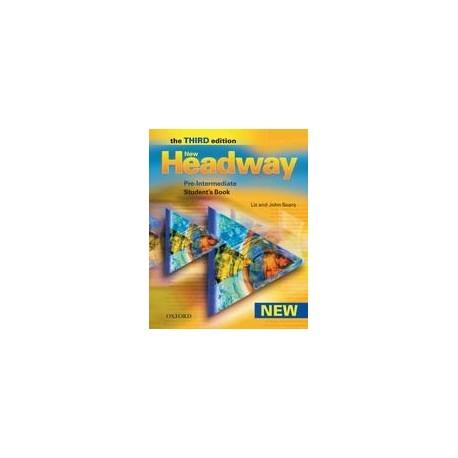 New Headway Pre-intermediate Third Edition Student's Book + CZ Wordlist Oxford University Press 9780194716833