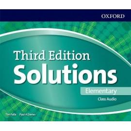 Maturita Solutions Third Edition Elementary Class Audio CDs