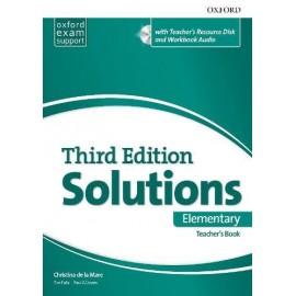 Maturita Solutions Third Edition Elementary Teacher's Book + DVD-ROM