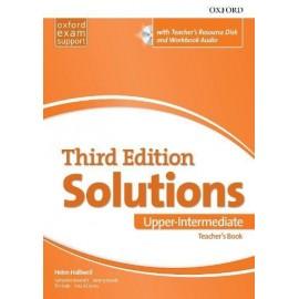 Maturita Solutions Third Edition Upper-Intermediate Teacher's Book + DVD-ROM