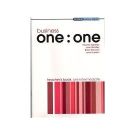 Business one:one Pre-Intermediate Teacher's Book