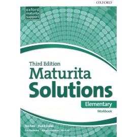 Maturita Solutions Third Edition Elementary Workbook Czech Edition