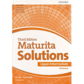 Maturita Solutions Third Edition Upper-Intermediate Workbook Czech Edition