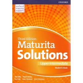Maturita Solutions Third Edition Upper-Intermediate Student's Book Czech Edition