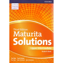 Maturita Solutions Third Edition Upper-Intermediate Student's Book Czech Edition